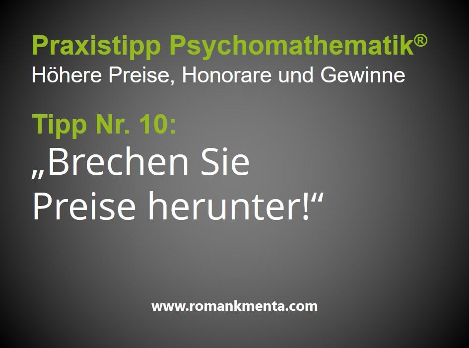 Praxistipps Psychomathematik10