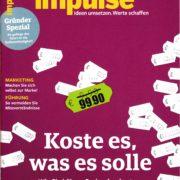 Preise durchsetzen - Coverstory Impulse - Roman Kmenta - Autor und Keynote Speaker