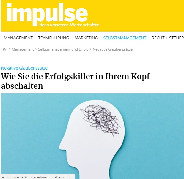 Impulse Erfolgskiller abschalten - Fake it till you make it