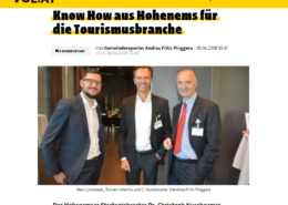 Know How aus Hohenems für die Tourismusbranche - Power Pricing im Tourismus beim 11. Hotelseminar in Igls mit Keynote Speaker Mag. Roman Kmenta - Vorarlberg online - VOL.AT - 04/2018