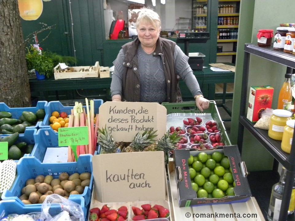 Gemüsefrau - Roman Kmenta