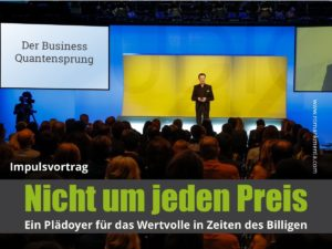 Impulsvortrag Roman Kmenta - Keynote Speaker und Redner