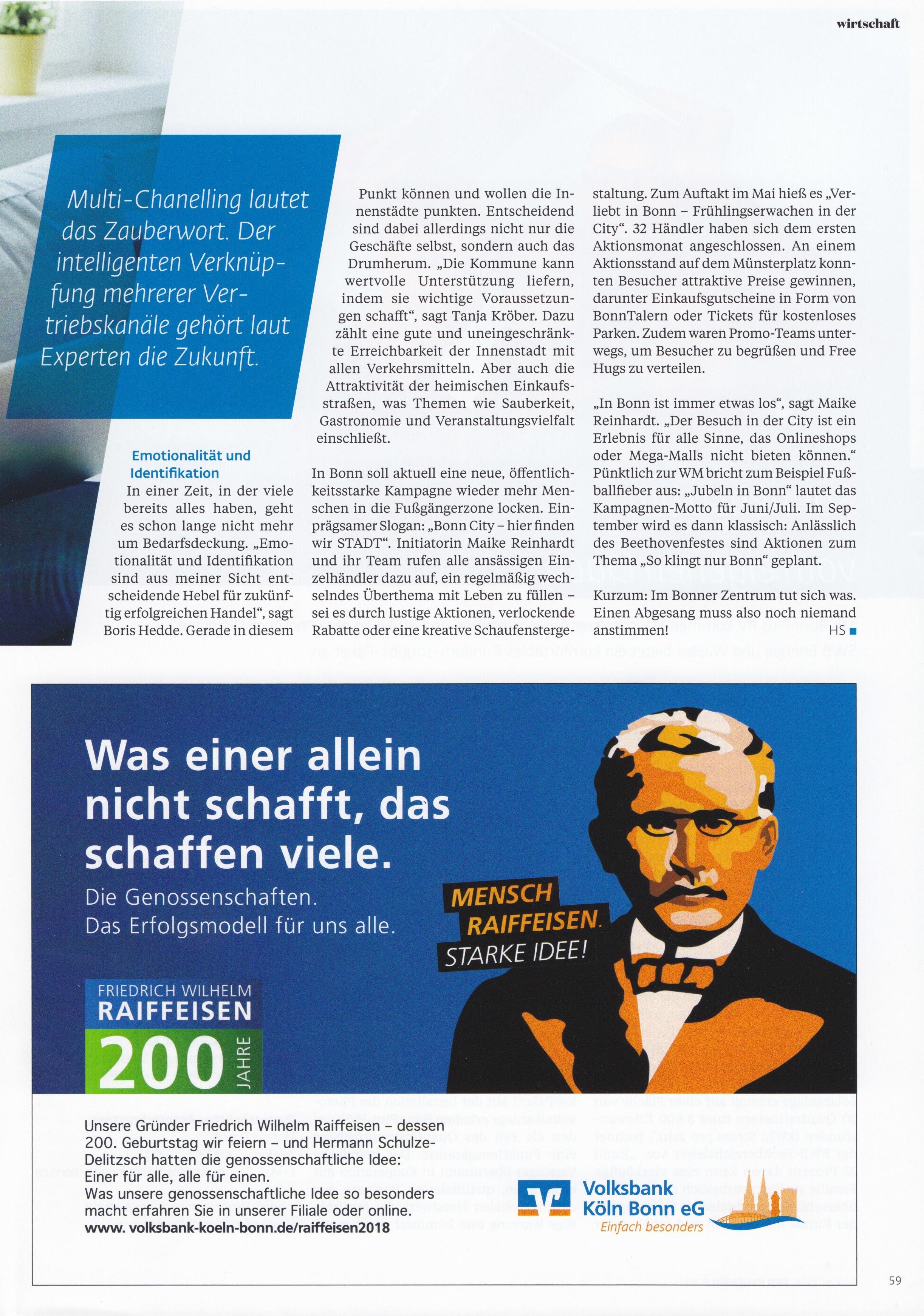 Top Magazin Bonn 4 - Differenzierung, USP, Wertsteigerung - - Roman Kmenta - Keynote Speaker und Autor
