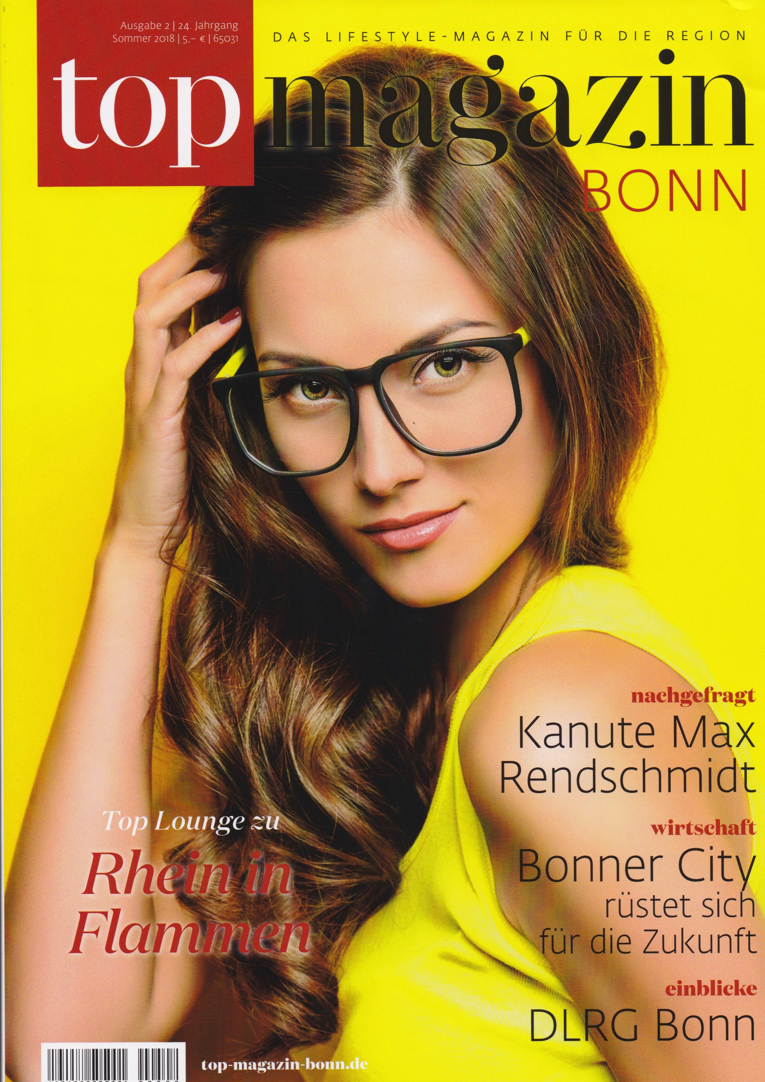 Top Magazin Bonn Cover - Differenzierung, USP, Wertsteigerung - Roman Kmenta - Keynote Speaker und Autor