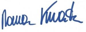 Kaltakquise Unterschrift Kmenta - Keynote Speaker