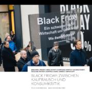 """Black Friday Trauerzug - Berichterstattung """"Leben in Wien"""" - Initiator: Wirtschaftsexperte Mag. Roman Kmenta"""