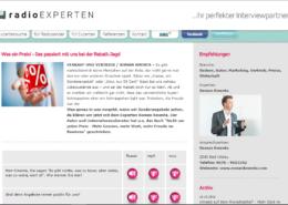Das passiert bei uns bei der Rabatt-Jagd - Interview radio EXPERTEN - Preisexperte Roman Kmenta