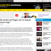 Elektrojournal - Black Friday Berichterstattung - Wirtschaftsexperte Roman Kmenta