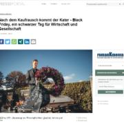Nach dem Kaufrausch kommt der Kater – Black Friday, ein schwarzer Tag für Wirtschaft und Gesellschaft - presseportal.de - Roman Kmenta - Preisexperte