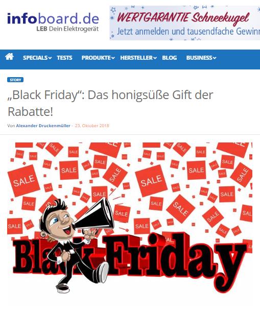 """""""Black Friday"""": Das honigsüße Gift der Rabatte! - Alexander Druckenmüller - Mag. Roman Kmenta"""