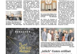 Mit einem Sarg durch die Mahü - Black Friday - Initiative von Mag. Roman Kmenta aus Bad Vöslau - NÖN - 11/2018