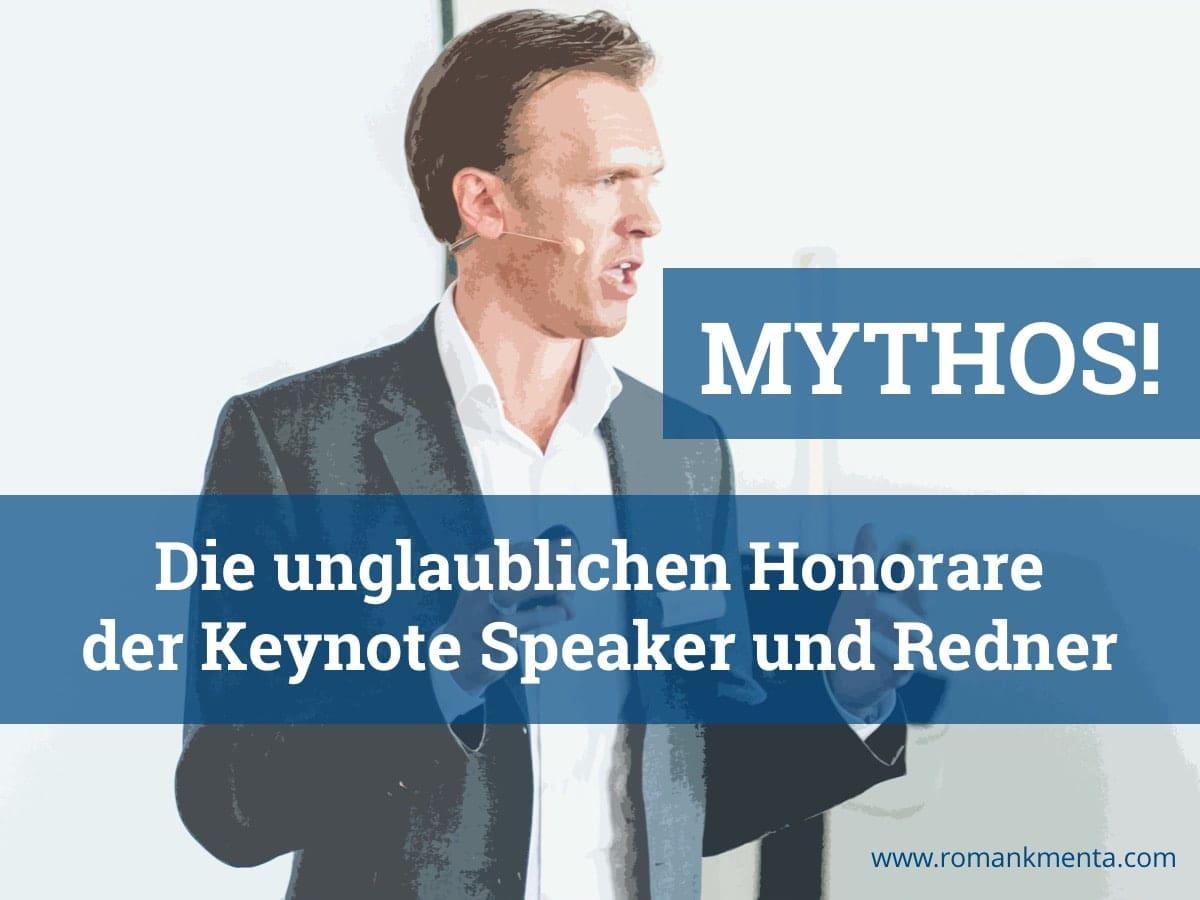 Redner Keynote Speaker Roman Kmenta Vortrag