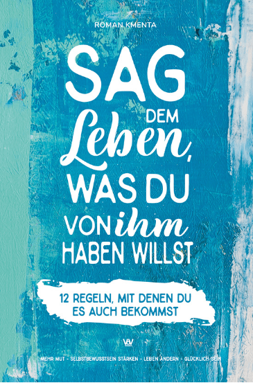 Sag dem Leben - Cover Front - mittel