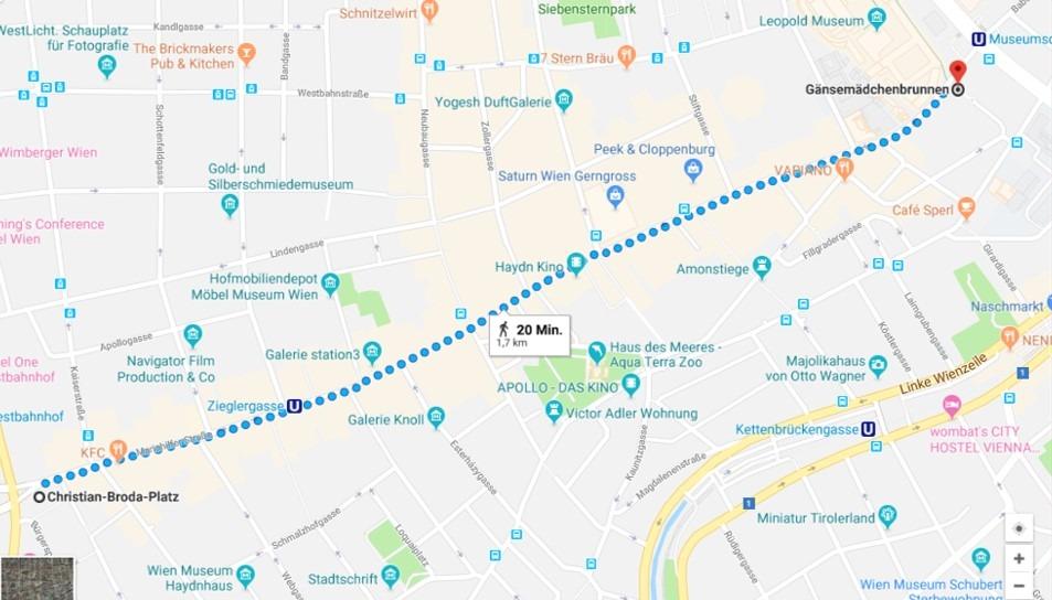 WegbeschreibungBlack Friday 2019 - Walk for Value