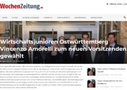 Wochenzeitung.de - Wirtschaftsjunioren Ostwürttemberg - Roman Kmenta als Keynote Speaker