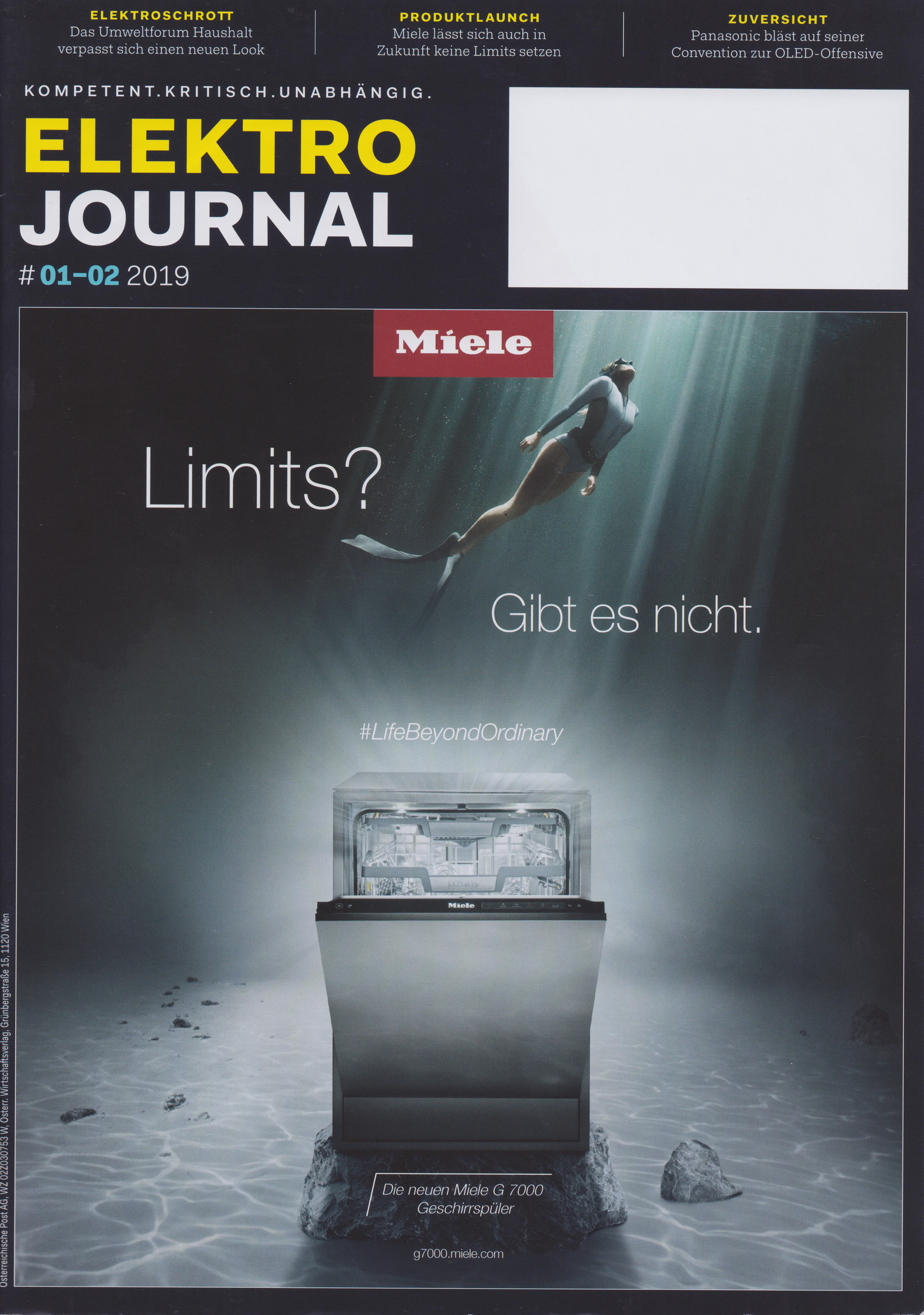 Elektrojournal 01-02 2019 - Cover - Mag. Roman Kmenta