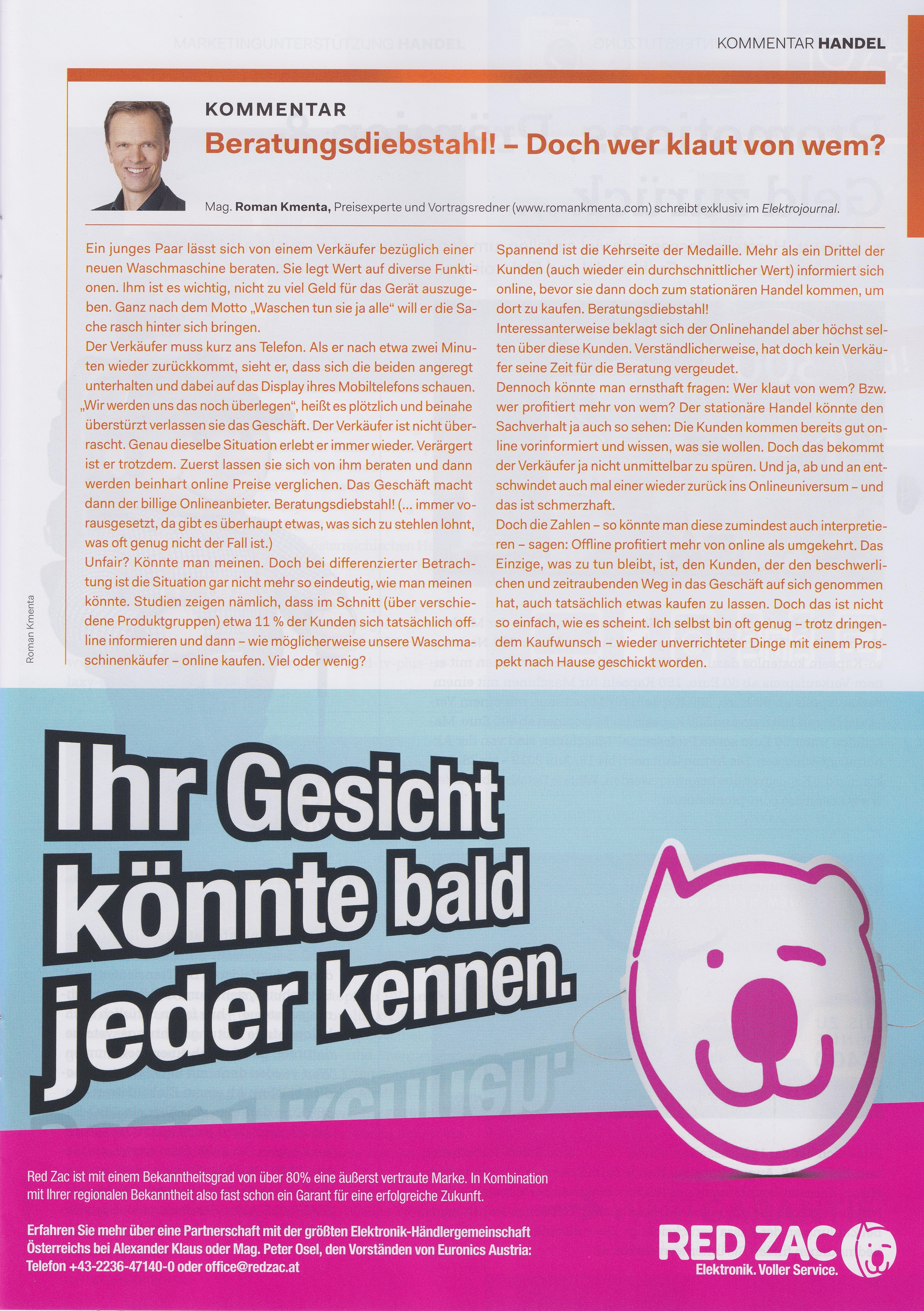 Elektrojournal 05 2019 - Roman Kmenta - Beratungsdiebstahl