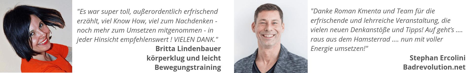 Feedbacks EBDL Strategietag Roman Kmenta