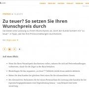 Zu-teuer - Interview mit Roman Kmenta bei handwerk.com