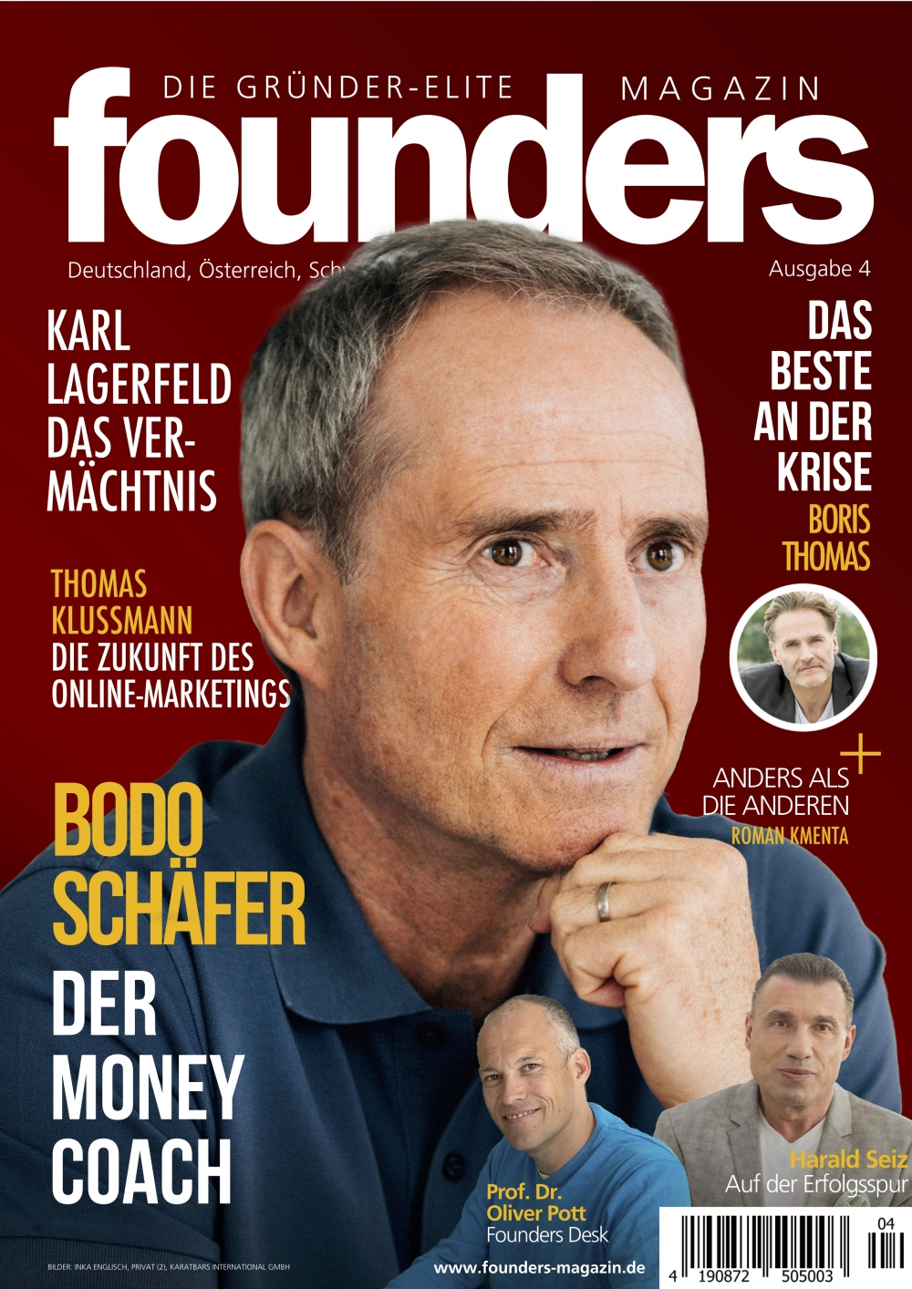 Founders Ausgabe 4 - Cover