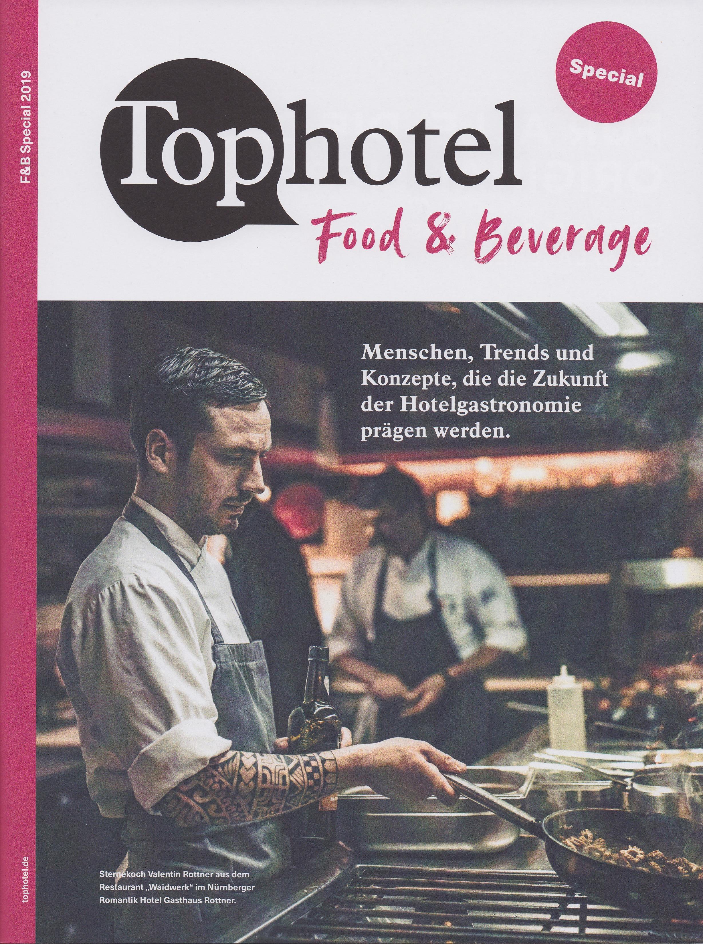 Tophotel Cover - Mehr Umsatz mit dem richtigen Menü - Roman Kmenta - Gastro Coach und Keynote Speaker