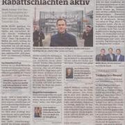 Mag. Roman Kmenta ist gegen Rabattschlachten aktiv - Black Friday 2019 - Bezirksblätter Nov 19