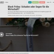 Videobeitrag Black Friday Demo 2019 - DER STANDARD - 11/2019