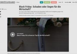 Videobeitrag Black Friday Demo 2019 - DER STANDARD - 11/2019