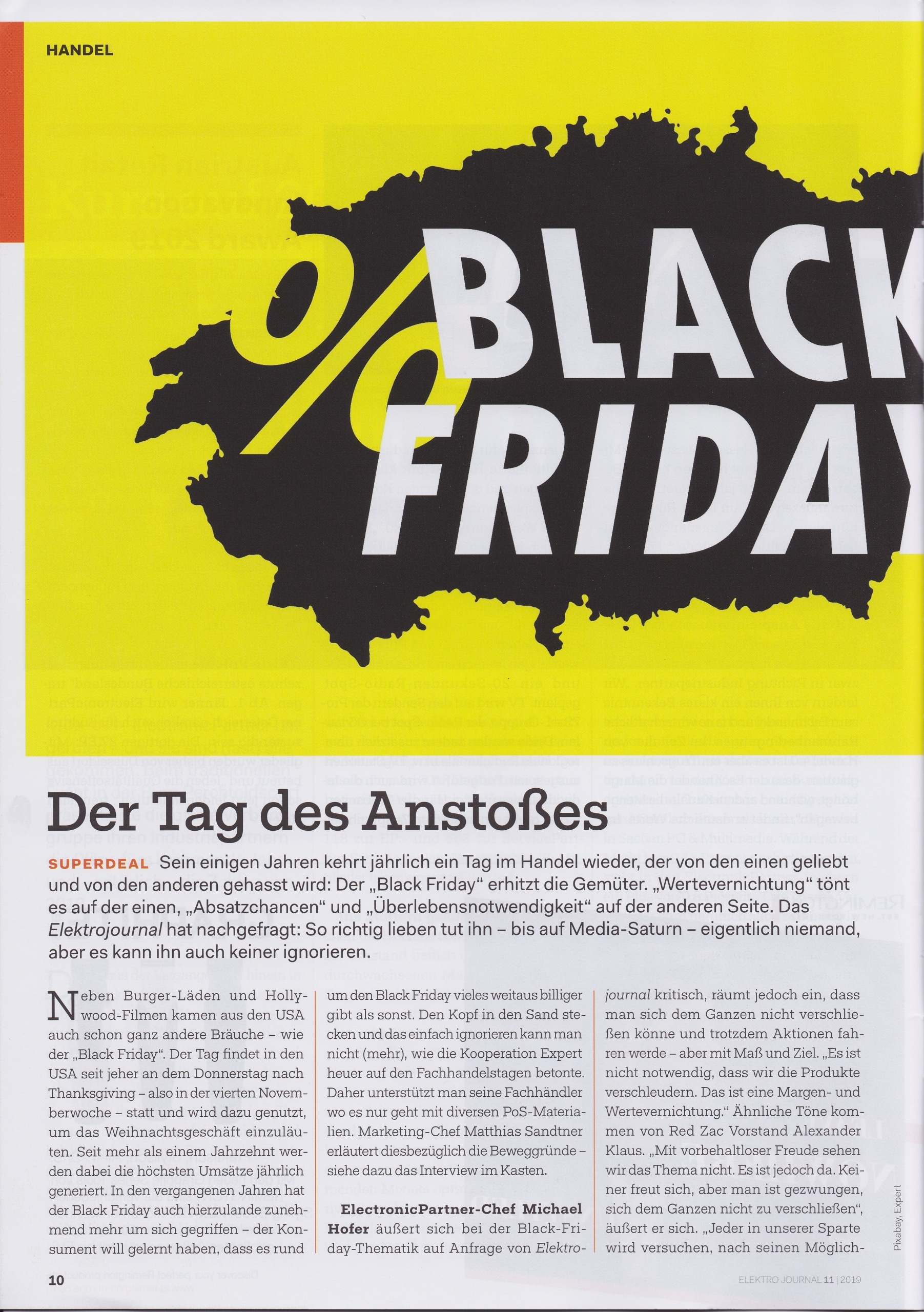 Black Friday 2019 - Mag. Roman Kmenta - Elektrojournal 11-2019 1