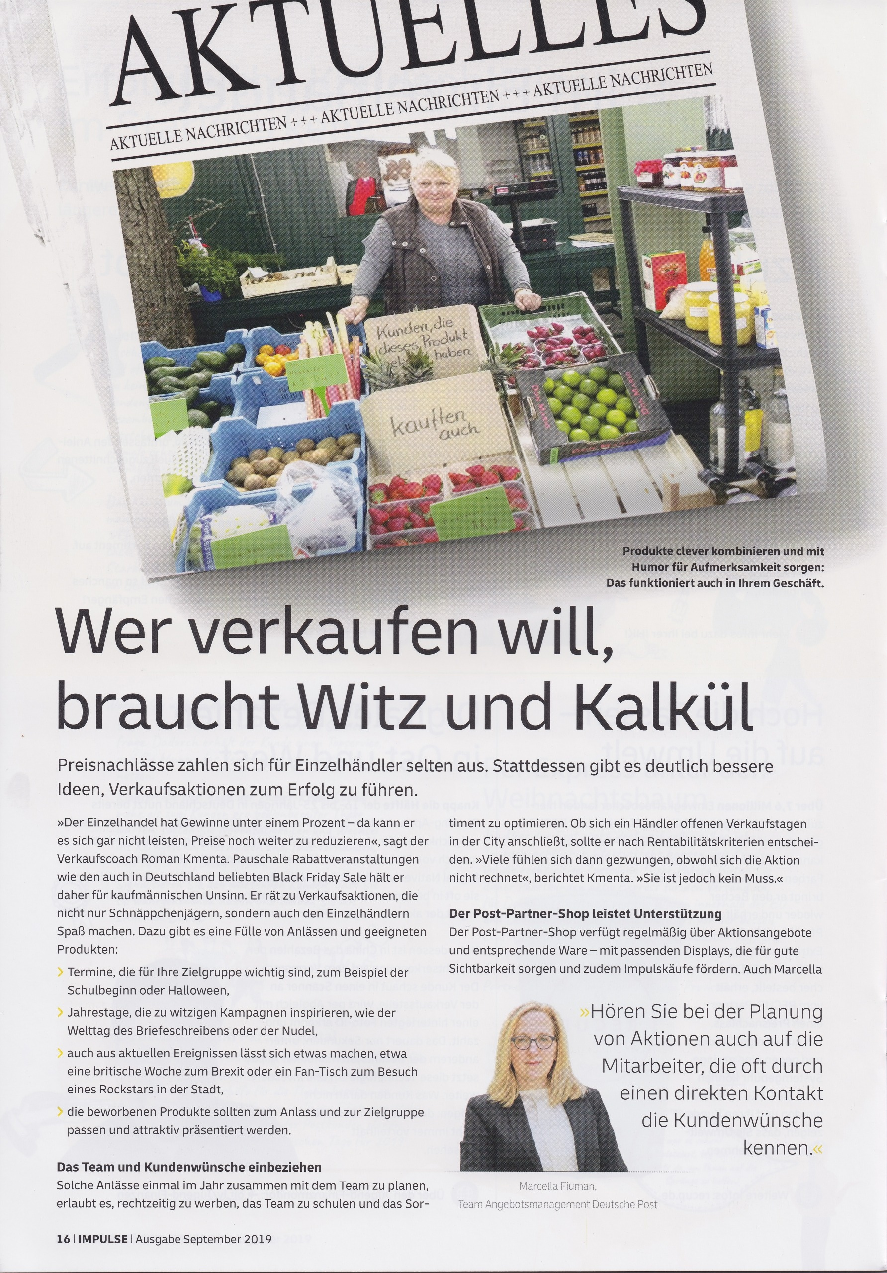Partner deutsche Post September 2019 - 1