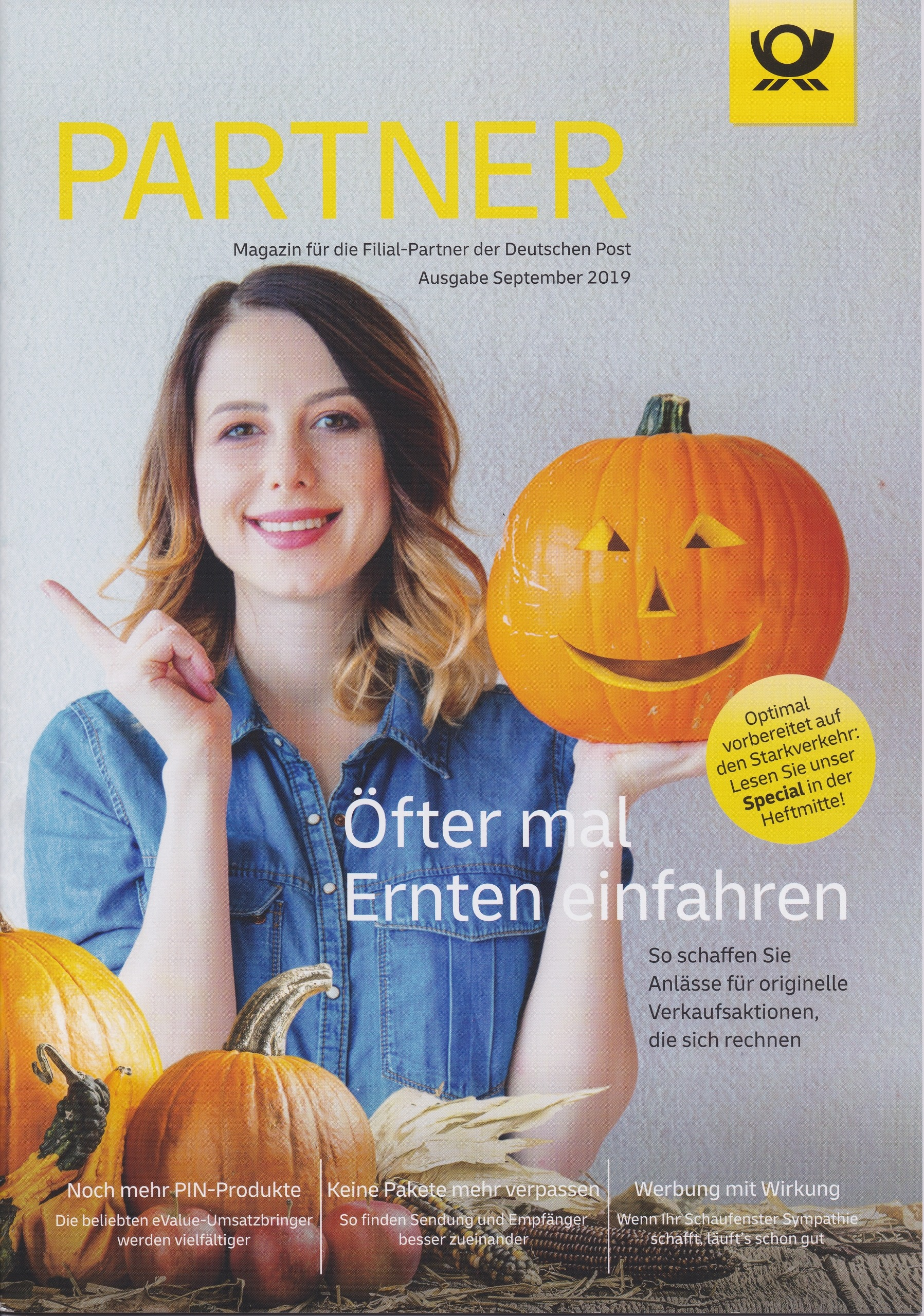 Partner deutsche Post September 2019 - Cover