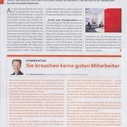 Sie brauchen keine Mitarbeiter - Elektrojournal 3-4 2020 - Mag. Roman Kmenta