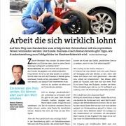 Arbeit die sich wirklich lohnt - Auto & Wirtschaft 11-2020 - Interview mit Mag. Roman Kmenta - Autor und Vortragsredner
